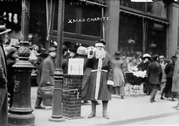 Xmas in NYC 1910s