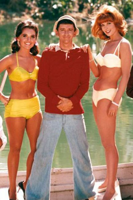 Gilligans Island Mary Ann, Gilligan and Ginger
