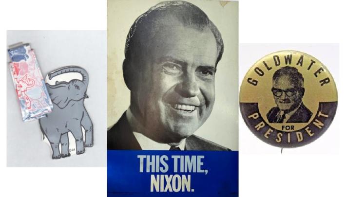 Political collectibles 1960s