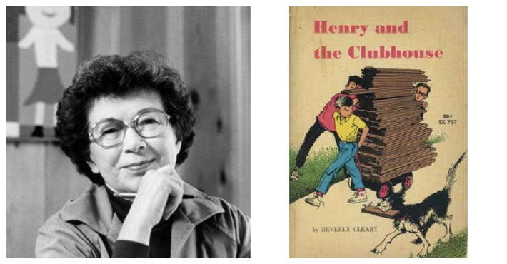 Beverly Cleary and Henry Huggins Book