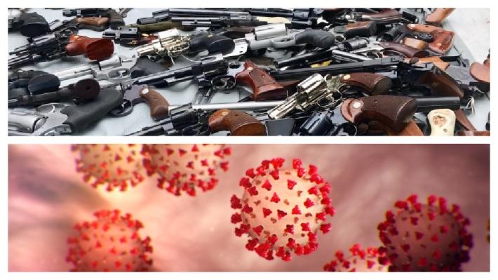 Guns and viruses