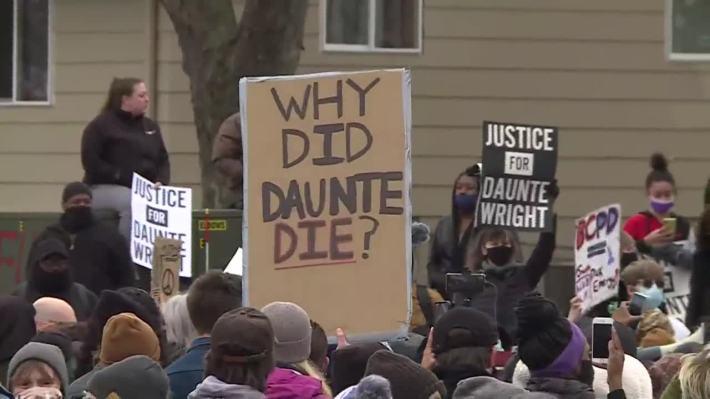 Protest Daunte Wright Killing
